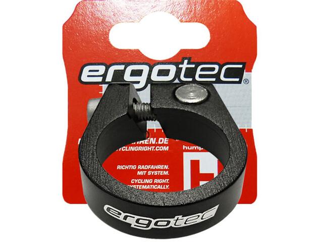 Humpert Ergotec SCI-105 Seat Post Clamp Ø34,9mm With Hexagon SCRew, black